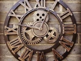 Кованые часы Воронеж