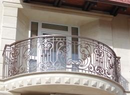 Кованые французские балконы Воронеж №18