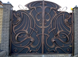 Кованые ворота Воронеж №45