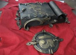 Кованые таблички, кованые почтовые ящики №33