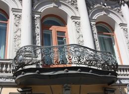 Кованые французские балконы Воронеж №13