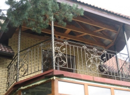Кованые балконы Воронеж №31