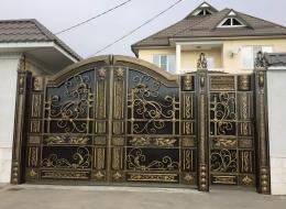 Кованые ворота Воронеж №46