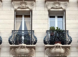 Кованые французские балконы Воронеж №21