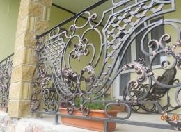 Кованые французские балконы Воронеж №15
