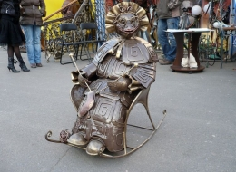 Кованые скульптуры, Арт объекты Воронеж №29