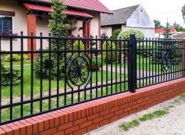 Кованые ворота Воронеж №8
