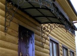 Кованые входные группы Воронеж №2