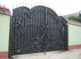 Кованые ворота Воронеж №97