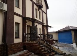 Кованые перила для крыльца на улице Воронеж №125