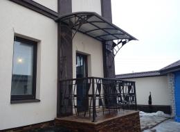 Кованые перила для крыльца на улице Воронеж №126