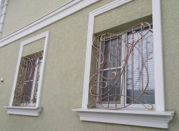 Кованые решетки на окна Воронеж №2