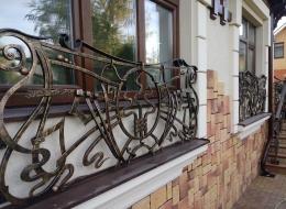 Кованые балконы Воронеж №18