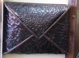 Кованые таблички, кованые почтовые ящики №80