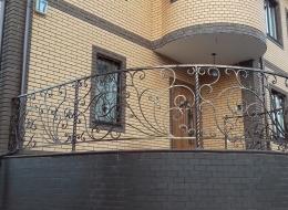 Кованые перила для улицы Воронеж №47