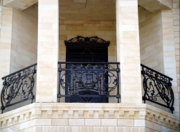 Кованые французские балконы Воронеж №14