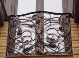 Кованые французские балконы Воронеж №62