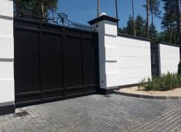 Кованые ворота Воронеж №189