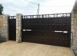 Кованые ворота Воронеж №179