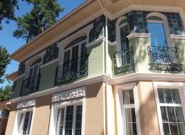 Кованые французские балконы Воронеж №79