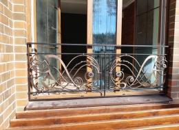 Кованые балконы Воронеж №128