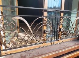 Кованые балконы Воронеж №129