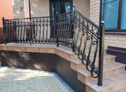 Кованые балконы Воронеж №124