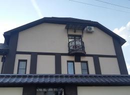 Кованые французские балконы Воронеж №95