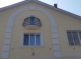 Кованые французские балконы Воронеж №89