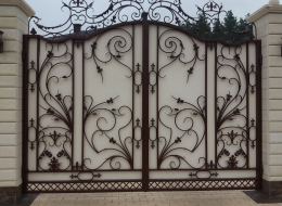 Кованые ворота Воронеж №187