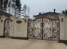 Кованые ворота Воронеж №188