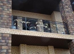 Кованые французские балконы Воронеж №66