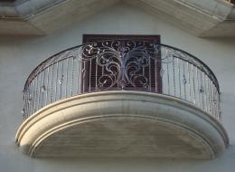 Кованые французские балконы Воронеж №69