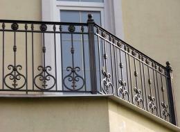 Кованые французские балконы Воронеж №85