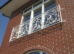 Кованые французские балконы Воронеж №71