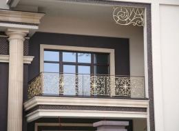 Кованые французские балконы Воронеж №72