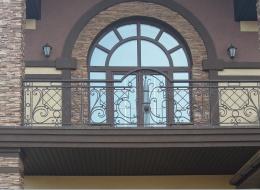 Кованые французские балконы Воронеж №76