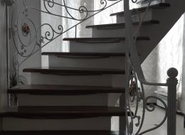 Кованая лестница Воронеж №208