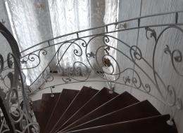 Кованая лестница Воронеж №210