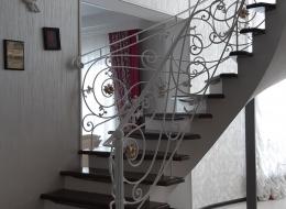 Кованая лестница Воронеж №214
