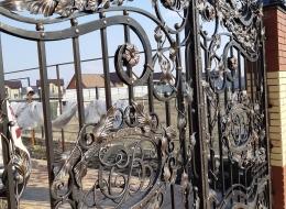 Кованые ворота Воронеж №163
