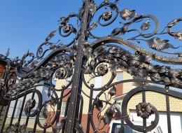 Кованые ворота Воронеж №164