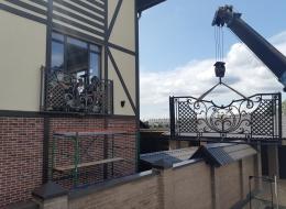 Кованые балконы Воронеж №108