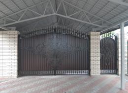 Кованые ворота Воронеж №167