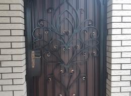 Кованые ворота Воронеж №168