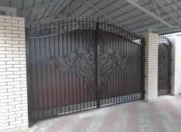 Кованые ворота Воронеж №170