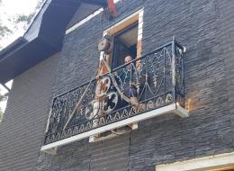 Кованые балконы Воронеж №100