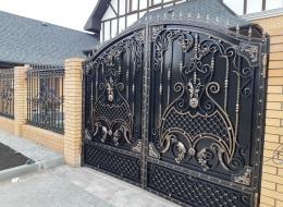Кованые ворота Воронеж №172