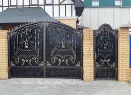 Кованые ворота Воронеж №173