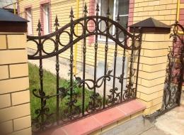 Кованые ворота Воронеж №43